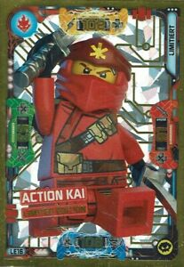 LEGO® Ninjago Trading Card Game Action Kai Limitierte Karte Nr.LE16