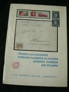 HR-Harmer-auction-catalogue-1966-France-amp-colonies-etrangeres-classics-Air-timbres