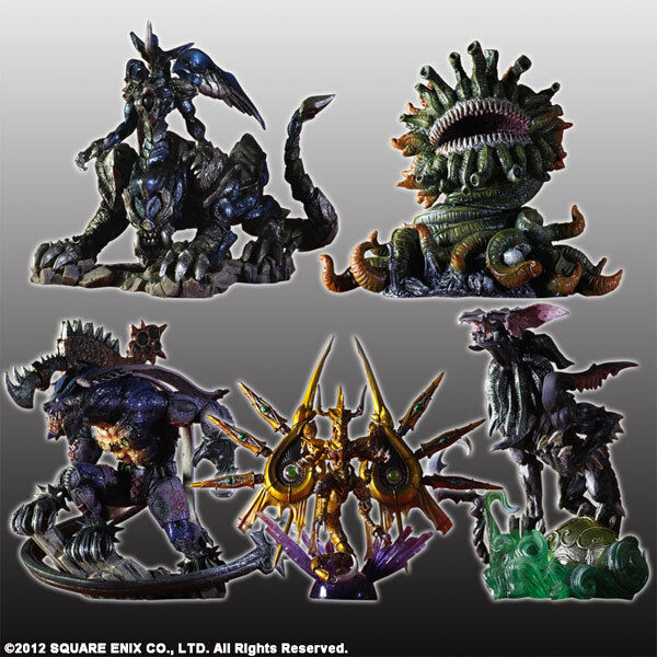 Square ENIX Final Final Final Fantasy FF Creatures Kai Figure Vol 4 4bc584