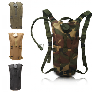 Hiking Sport 3L Hydration Pack Tactical Molle Water Bag Assault Backpack Pouch