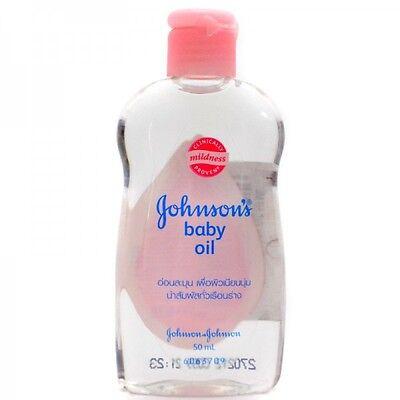 Johnson S Baby Oil Handy 50ml Travel Pack Size Baby