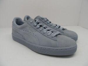 6d5d306bdd3b5b PUMA Kid s Suede Classic Tonal Jr Casual Athletic Shoe Blue Fog Size ...