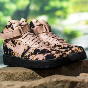 sale retailer 5dcbc aa1ce Image is loading Nike-Air-Force-1-High-Print-ACID-WASHED-