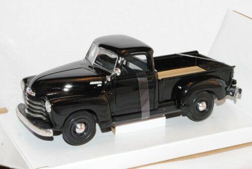 Chevrolet Chevy Pickup Pick-up Pritsche 3100 1950 Schwarz 1//24 Maisto Modellauto