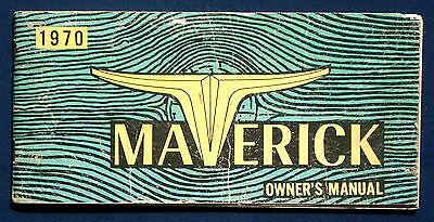 Betriebsanleitung 1970 Ford Maverick usa Owner's Manual