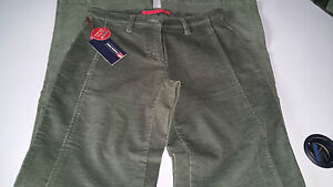 4d4cfb0ccb896 jeans pants 26 it 40-42 woman pacific trail velvet green new labels
