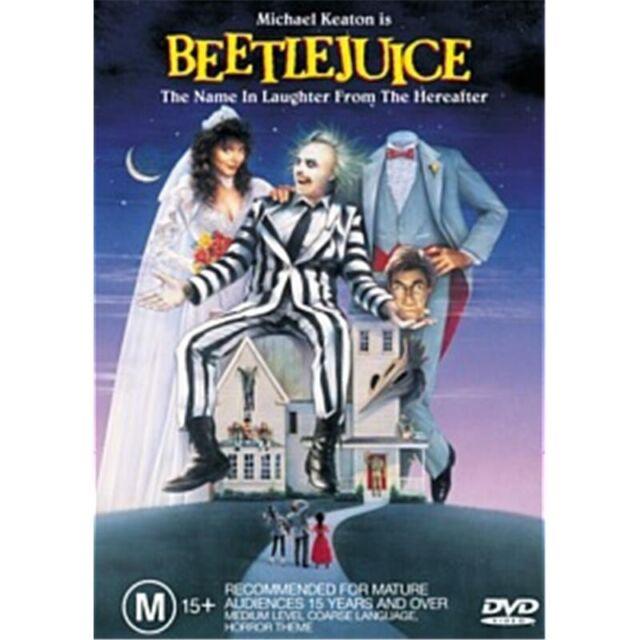 Beetlejuice : NEW DVD