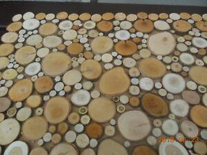 Details Zu 100 Baumscheiben Astscheiben Holzscheiben Deko Basteln U Floristik 2 12 Cm