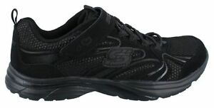Skechers-Lite-Kicks-Class-President-80424L-BBK-Leather-Mesh-Kids-Boy-Girl
