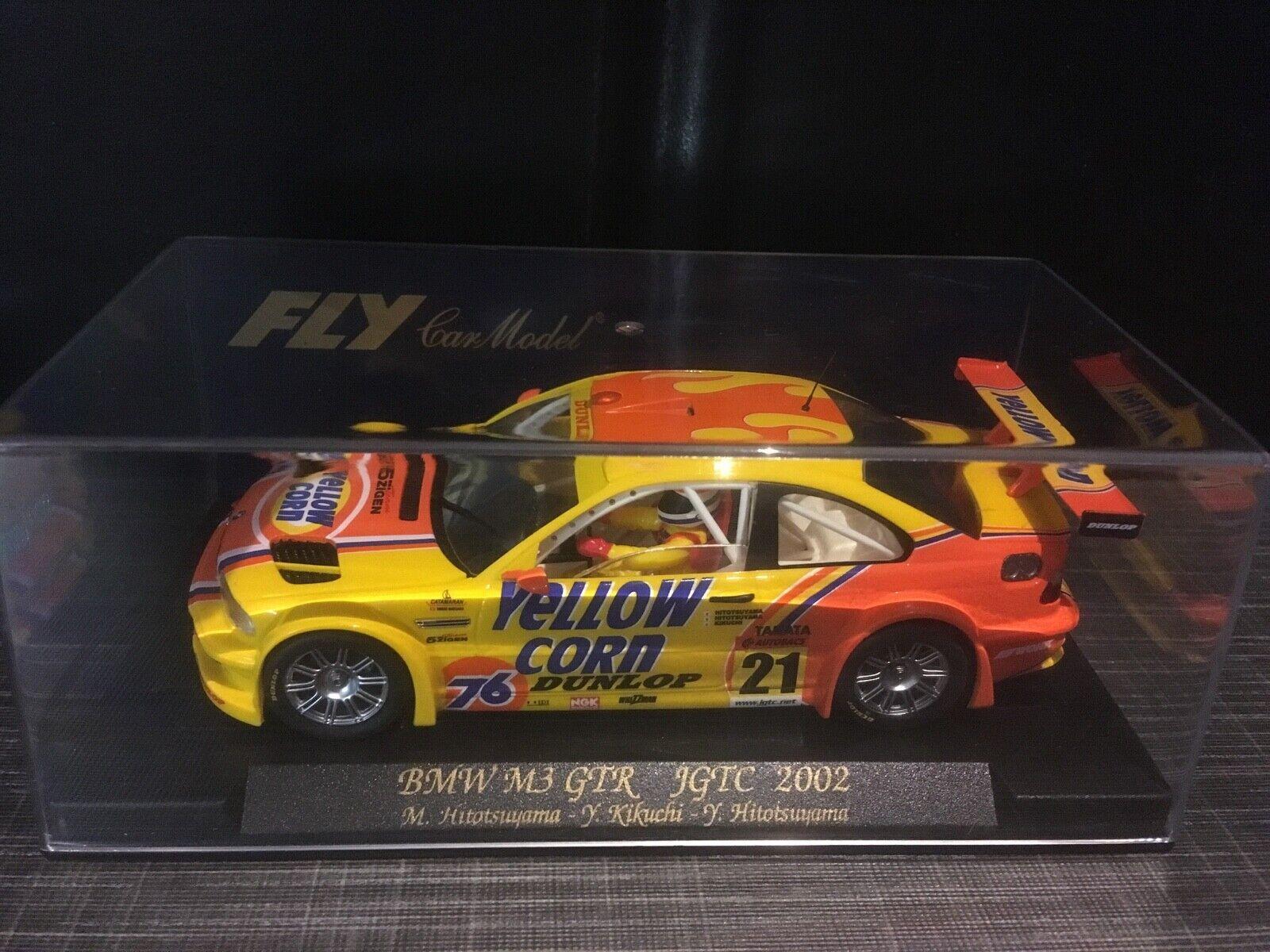 88017 Fly Car Model    BMW M3 GTR   JGTC 2002   Gelb Corn   NEU & OVP