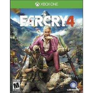 Far Cry 4 Limited Edition Microsoft Xbox One Game Complete