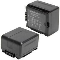 2pcs Vw-vbg130 Battery For Panasonic Sdr-h79 Hdc-hs9 Hdc-sd100 Sdr-h80 Vdr-d51