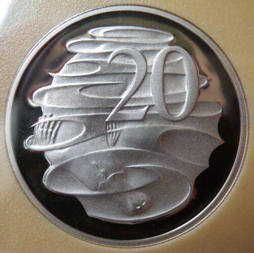 1991 Australian Proof Twenty Cent Ex RAM Proof Set Coin Free Post Aust! 20c
