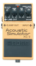 Boss AC-3 Acoustic Simulator Guitar Effects Pedal AC3