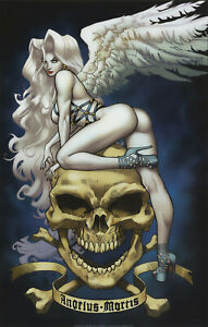 Lady-Death-Seraphim-Print-Art-Richard-Ortiz-11x17-Comic-Art