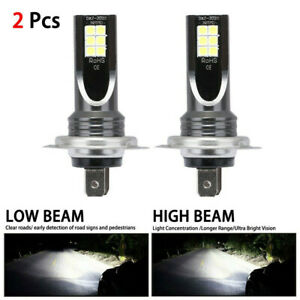 2x-H7-LED-Headlight-Conversion-110W-30000LM-6000K-Error-Free-Canbus-Bulb-H7