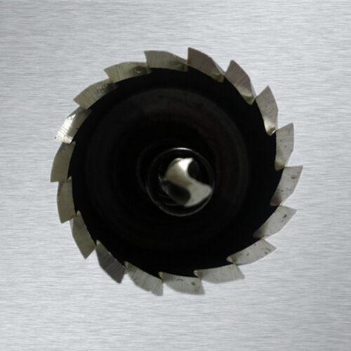 28-100 mm métal perceuse en acier inoxydable Trou Métal Scie Cutter Drilling À faire soi-même part