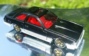 TOMY-Tomica-5-Toyota-Soarer-2800GT-Rare-black-JDM-Made-in-Japan