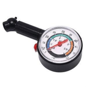 Car-Motorcycle0-50psi-Dial-Wheel-Tire-Tyre-Gauge-Meter-Pressure-Measure-TesterBh