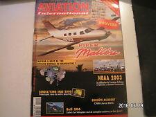 ** Aviation International n°2 Piper Malibu / Bell 206 / Bendix King IHAS 5000