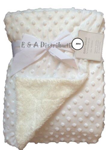 Bubble Baby Blanket Pram Crib Moses Basket For Girls /& Boys of  0 Months