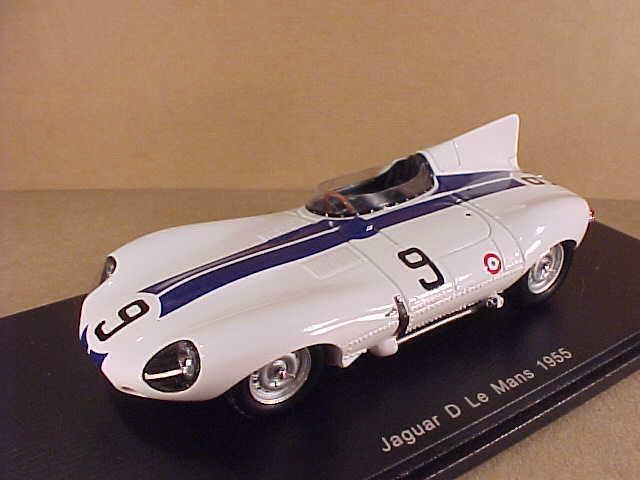 Spark 1 43 Resina Jaguar Tipo D, 1955 Jaguar, P. Walters & W. lanza  S2132