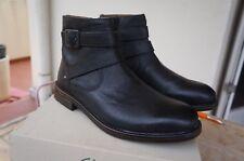 Rushwaymid GTX, Bottes Classiques Homme, Noir (Black Leather), 40 EUClarks
