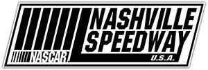 Nashville-Speedway-Racing-Nascar-Car-Bumper-Window-Notebook-Sticker-Decal-7-034-X3-034