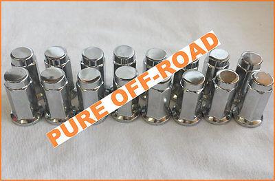 Ranger ITP Chrome Tapered Lug Nuts 3//8 x 24 RZR Polaris Sportsman Set of 16