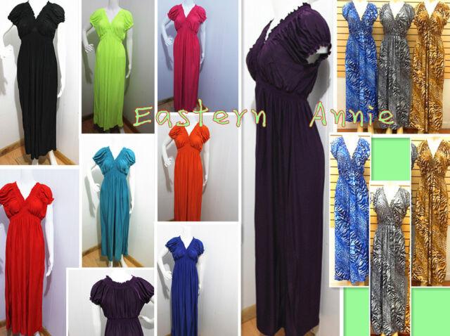 XL 2X 3X PLUS SIZE Women Long Maxi Summer Beach Sundress/Sexy Dress