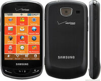 Samsung Sch U380 Brightside - Black (verizon Or Page Plus) Cellular Phone