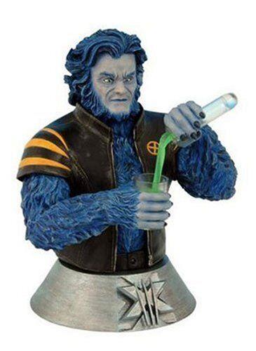 Marvel Comics X2 Movie X Men BEAST 7  Figure Collectible Bust  Statue NICE