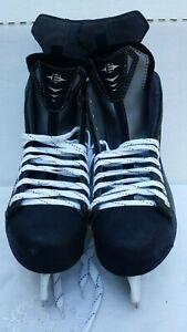Easton-E2-Synergy-Bladz-Stainless-Steel-Ice-Hockey-Skates-Size-11