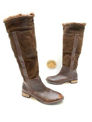 Pajar Womens Brown Leather/suede Tall