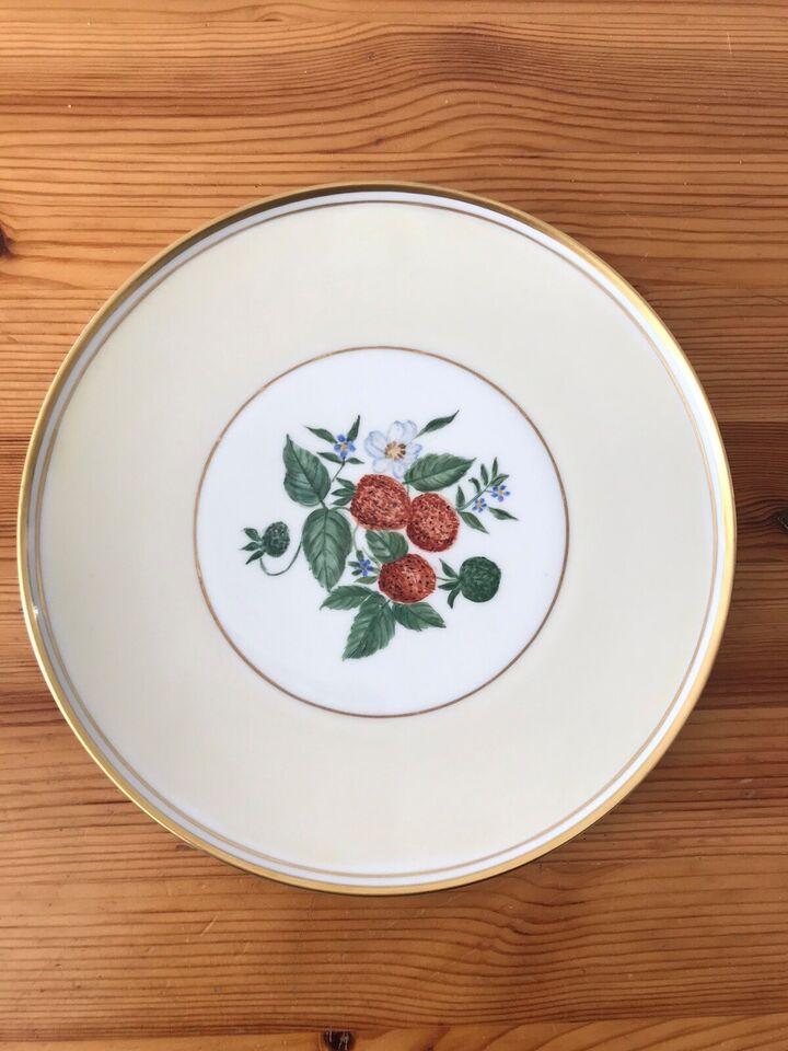 Porcelæn, Platte