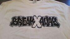 BREAK AWAY Face Aggression Tour Straight Edge Hardcore Punk Band Shirt (S) NWOT