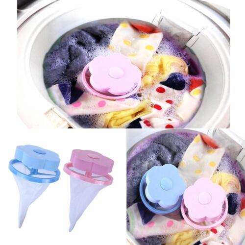Waschmaschine Wäsche Bag Floating Lint Haar Catcher Mesh Pouch