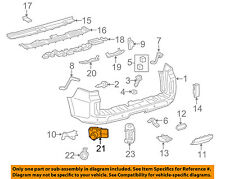 13 14 15 GENUINE LEXUS 89341-33200-D0 3R1 BUMPER ULTRASONIC SENSOR OEM F106