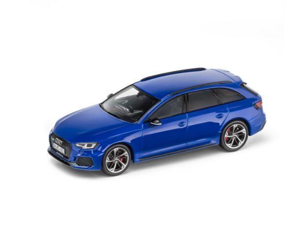 Audi Audi Audi rs4 avant 1 43 voiture miniature Minimax Nogarobleu Bleu - 5011714231 9f21fd