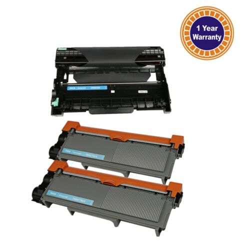 3PK FOR Brother MFC-L2720DW MFC-L2700DW Toner Drum TN660 DR630 High Yield Ink