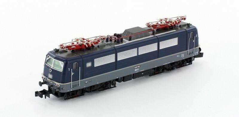 Hobbytrain N h2882 E-Lok e410 002 DB Ep. IIIB, Blu NUOVO