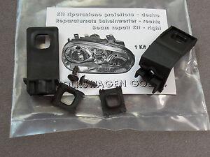 Faro-Juego-de-Reparacion-Faro-Luz-Principal-Soporte-VW-Golf-4-Derecho-1J0998226