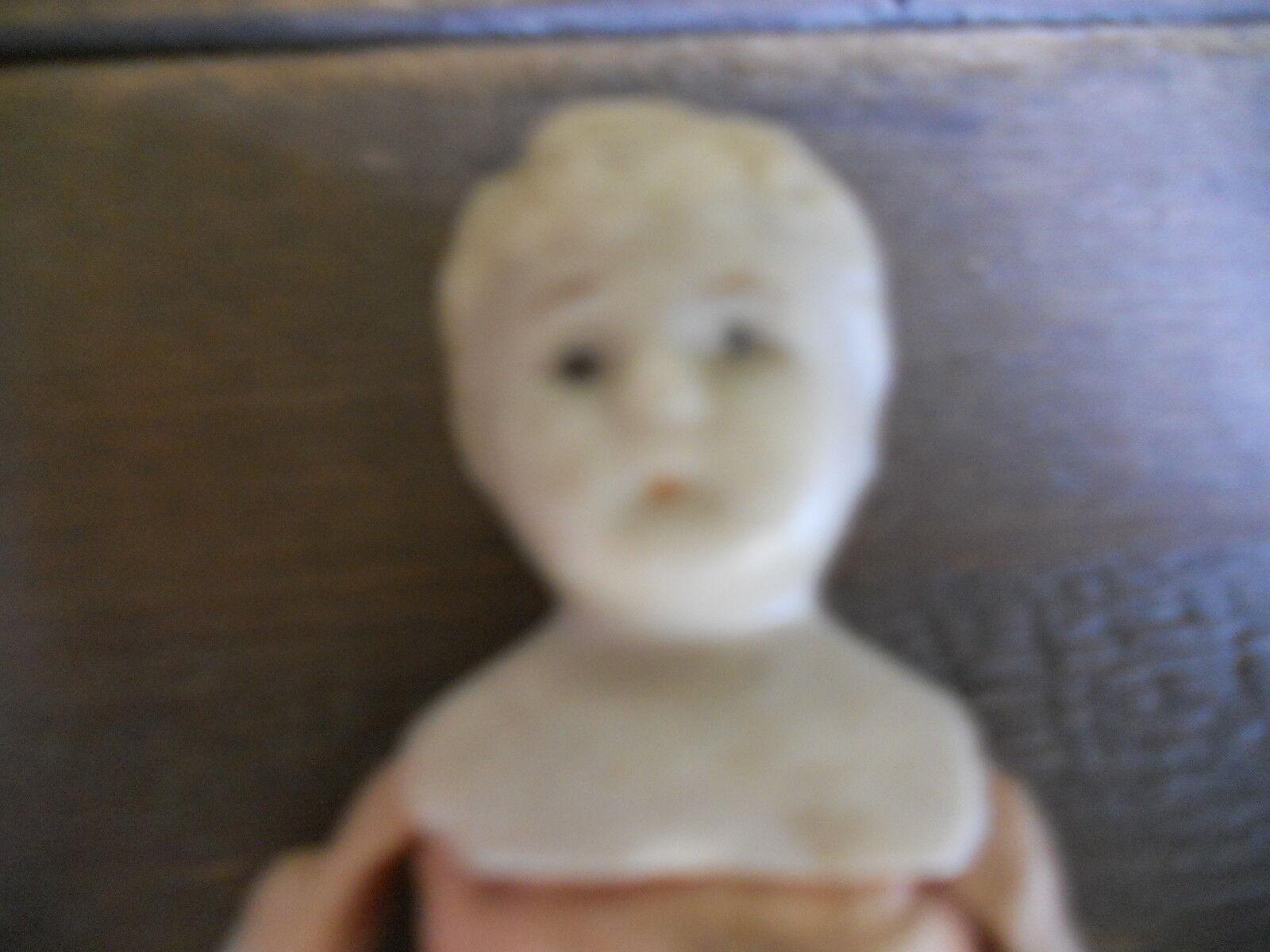 Antiguo Nippon Biscuit Hombro Cabeza De Muñeca-Aprox. 5 1 4  de alto