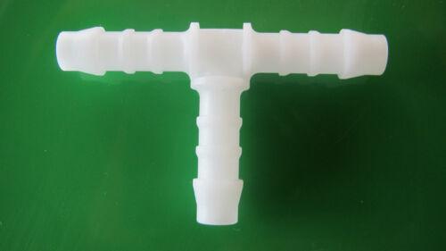 T-Pezzo per 3 x 9mm Tubo Aria Tubo di distribuzione per connettore tubo 3x9mm