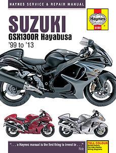 Haynes-Manual-4184-Suzuki-GSX1300R-Hayabusa-99-13-workshop-service-repair