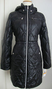 Details zu MICHAEL KORS Daunen Mantel Jacke Parka Damen mit Kapuze Gr.M NEU mit ETIKETT