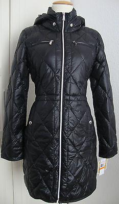 MICHAEL KORS Daunen Mantel Jacke Parka Damen mit Kapuze Gr.M NEU mit ETIKETT | eBay