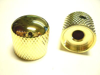 göldo Dome Speed Knob Poti-knopf SCHWARZ mit weißem Markierungs-Dot 1pc