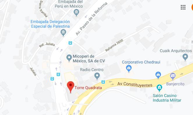 Oficina En Renta En Lomas Altas Reforma Y Constituyentes (m2o1753)