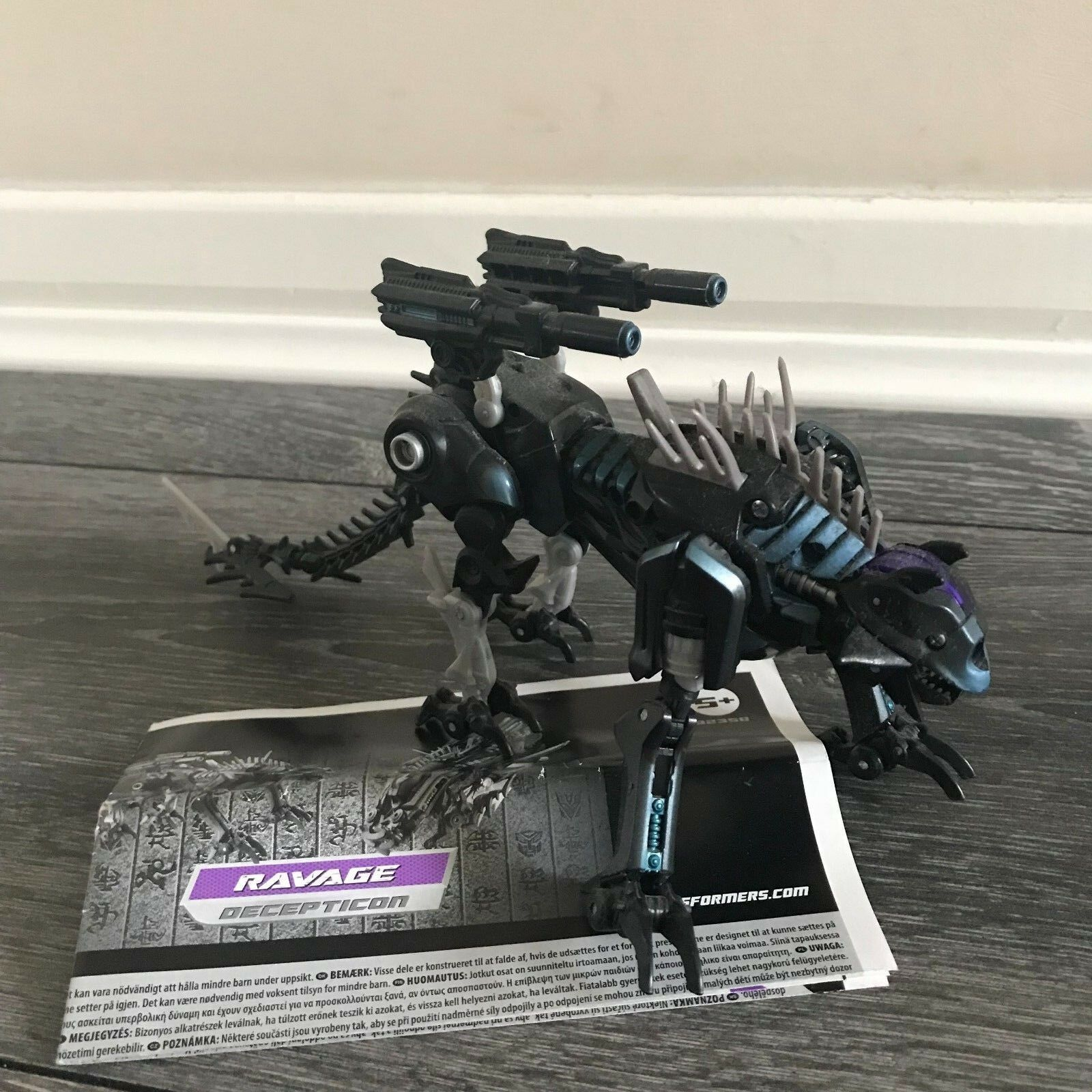 Transformers Revenge Of The Fallen Ravage Deluxe Class Decepticon Transformers